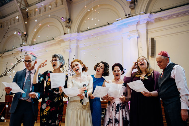 Jewish Wedding Royal Horticultural Halls in London UK-55