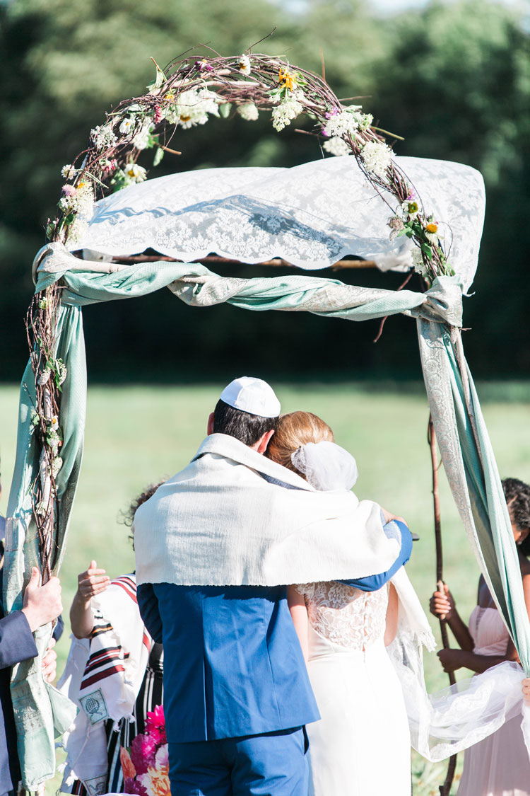 Jewish Wedding Shady Lane​ Farm New Gloucester Maine USA_1790