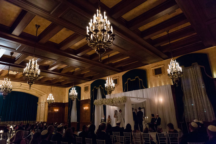 Jewish Wedding The Fort Garry Hotel Winnipeg Canada-5397