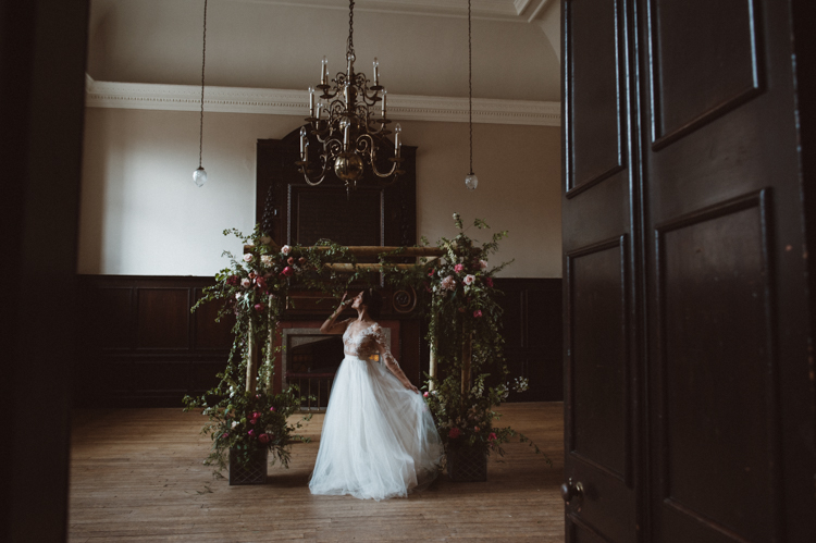 fine art palm spring millais jewish wedding chuppah inspiration editorial fulham palace wedding venue london surrey make up artist hair stylist kylie mcmichael