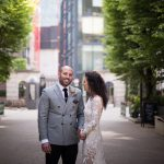 A Super Luxe Gold Jewish Wedding With a Hermione de Paula Bride at Bevis Marks and Devonshire Terrace, London, UK