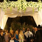 A Mikaella Bridal Bride for a Jewish Persian American Spring-Themed Wedding at Avenue, Tel Aviv, Israel