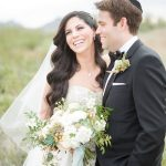 A Justin Alexander Bride for a Desert-Chic Jewish Wedding at Chateau Lux, Phoenix, Arizona, USA