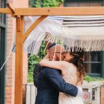 A Pronovias Bride for a Family-Oriented Jewish Wedding at The Foundry in Buffalo, NY, USA