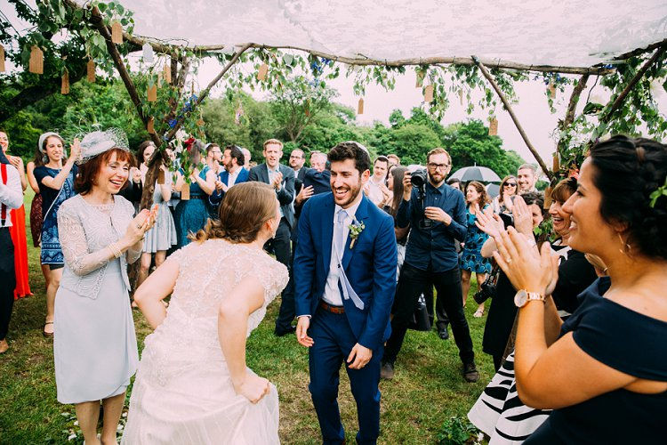A Maggie Sottero Bride For A Jewish Wedding With A Living Tree Chuppah At Micklefield Hall UK