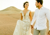 Elopement in the desert in Marrakech