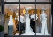 Mirror Mirror Bridal Shop in Angel Islington Partners Maria Yiannikaris and Jane Nicolls ( blond) Uk 16th dec 2016 Photo(C)vickicouchman vickicouchman.com 07957226911
