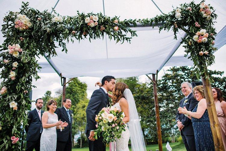 chuppah ideas smashing the glass wedding
