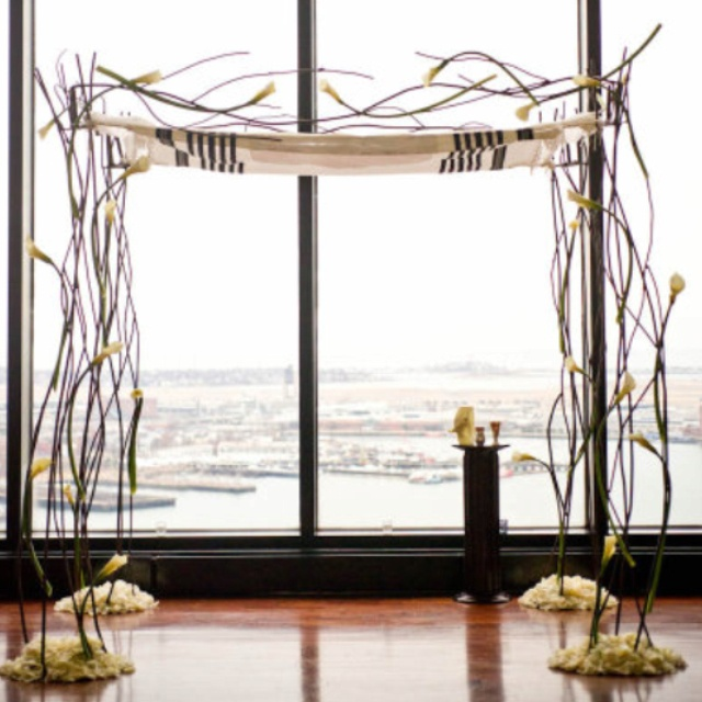 Beautiful chuppah with Branches