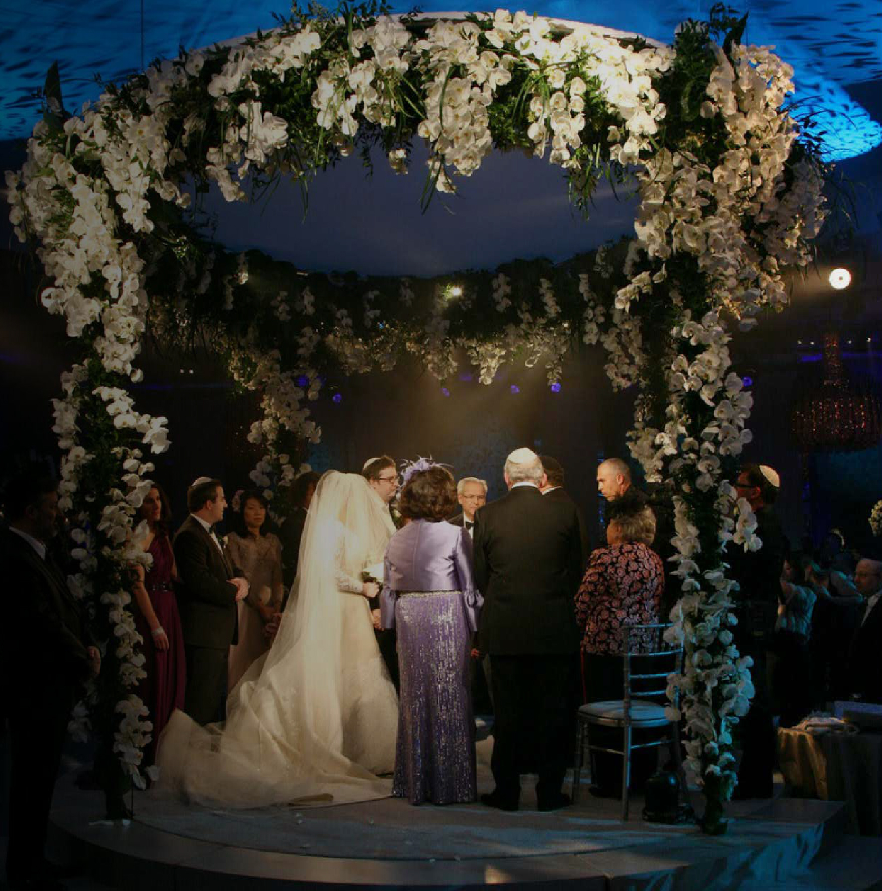 beautiful chuppah