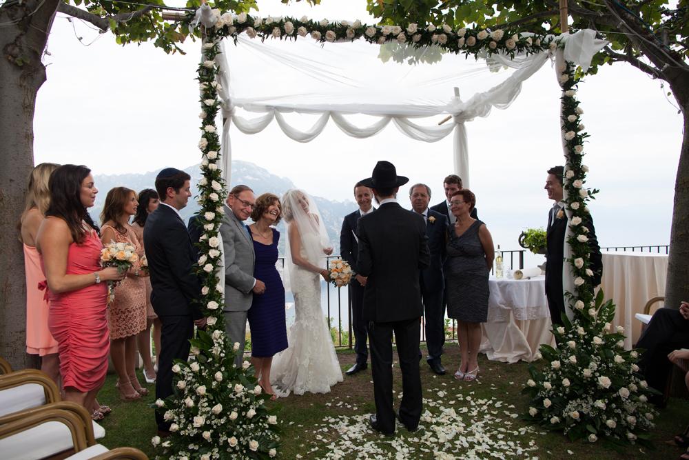 Ravello Amalfi Jewish Wedding 133