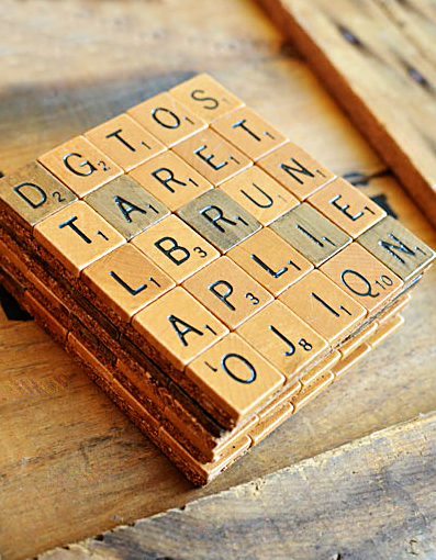 Scrabble Coaster