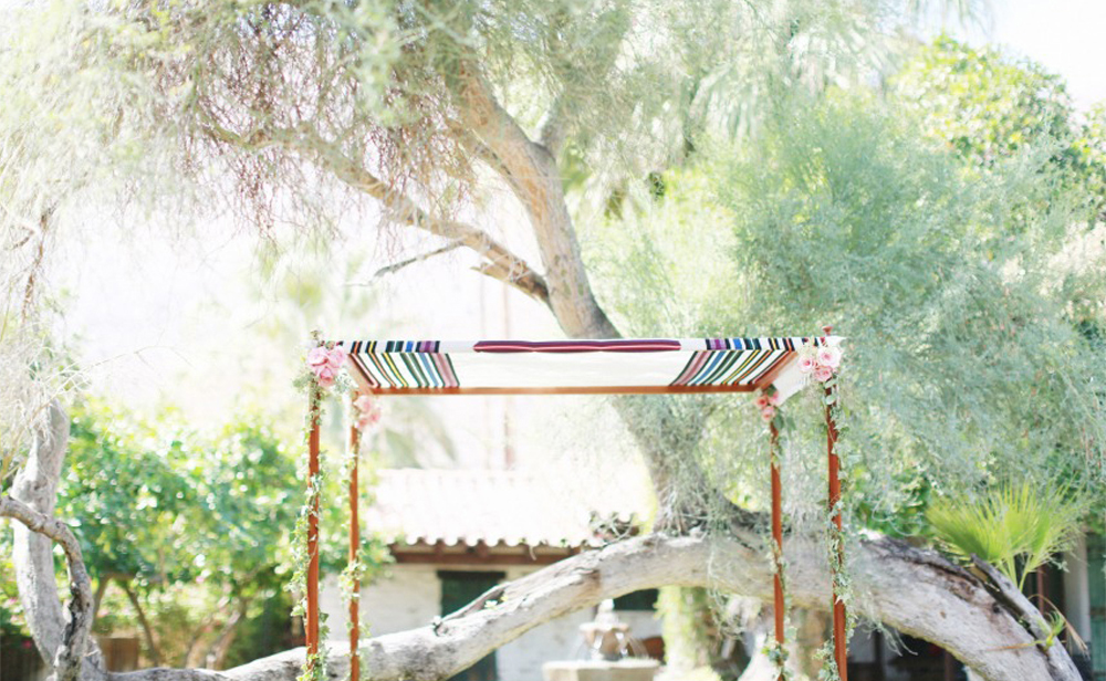 simple talit chuppah