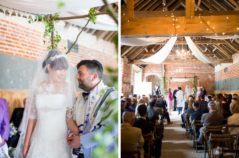Willow branch and Tallit Chuppah