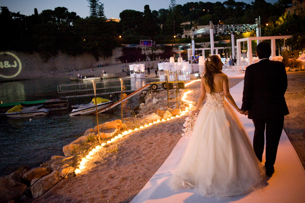 Riviera Jewish Wedding at Passable Beach, Cap Ferrat