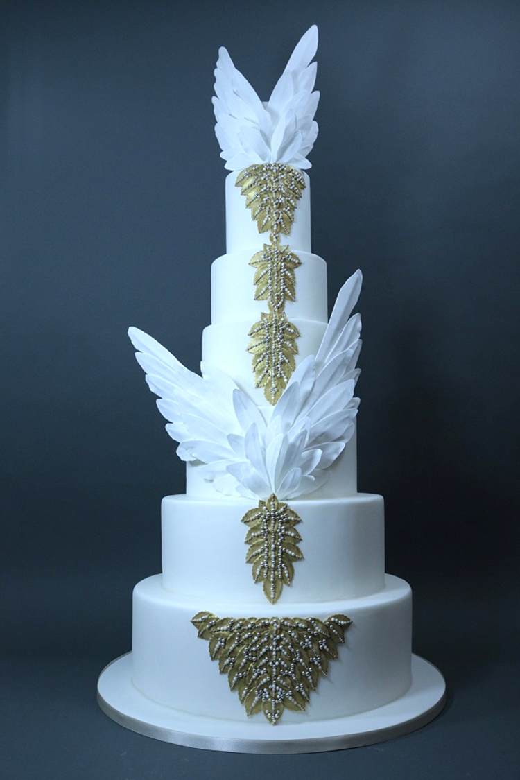 Cake food drink ideas smashing the glass jewish wedding blog alexander mcqueen cake junglespirit Gallery