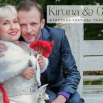 Kiruna & Gareth | Wedstock Festival Theme Jewish Wedding at Holton Lee, Poole
