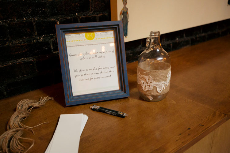 alternative wedding guestbook