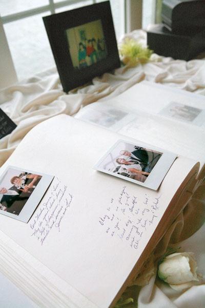 Polaroid Guest Book - Smashing the Glass   Jewish Wedding Blog
