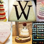 Unusual wedding cake and wedding dessert ideas