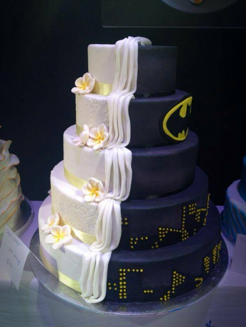 Wedding cake in disguise