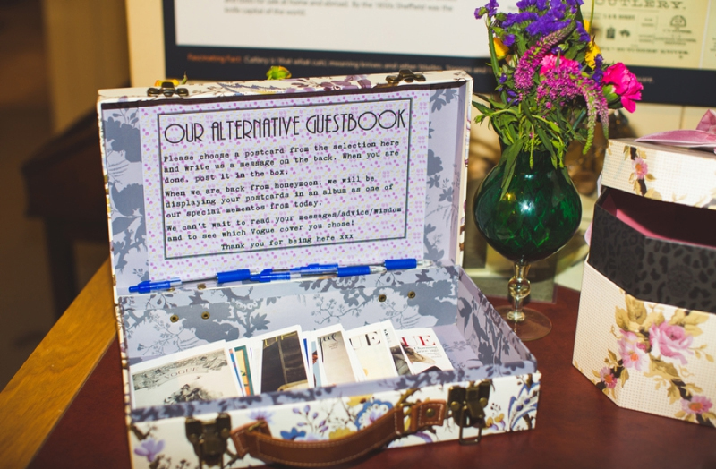18 Unusual and Creative Guest Book Ideas - Smashing the Glass ...