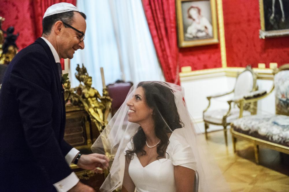 BADEKEN JEWISH WEDDING