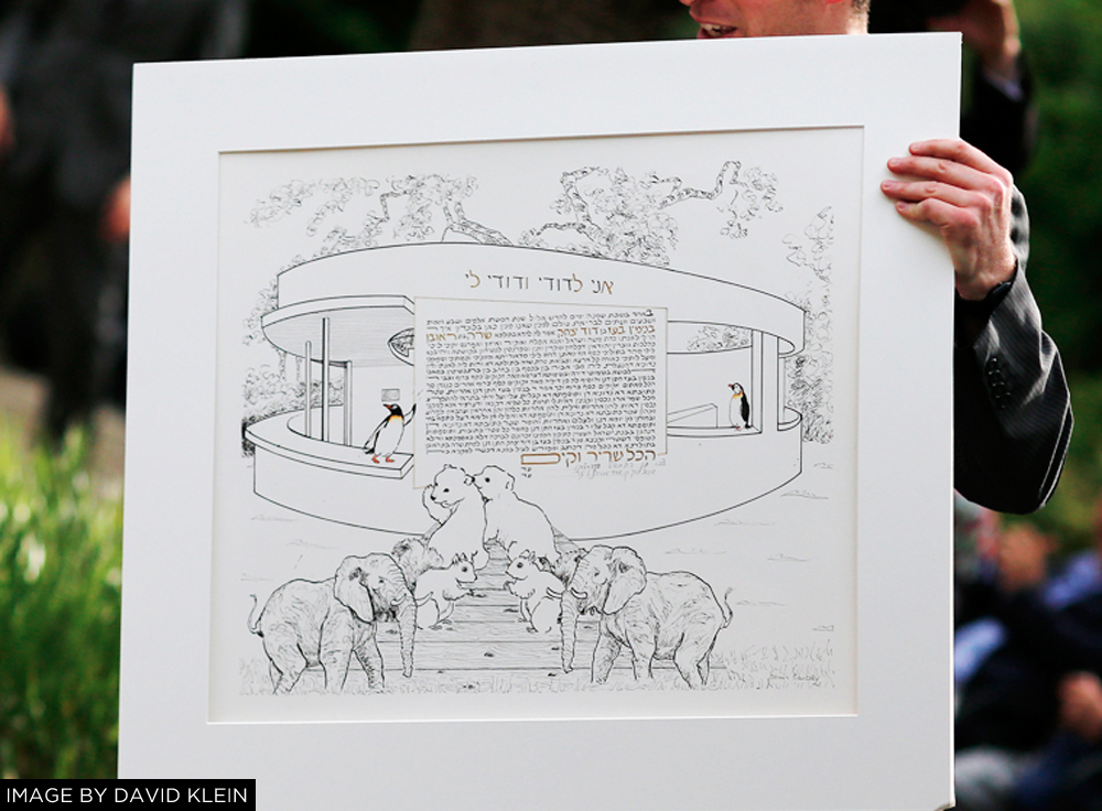 LONDON ZOO WEDDING KETUBAH