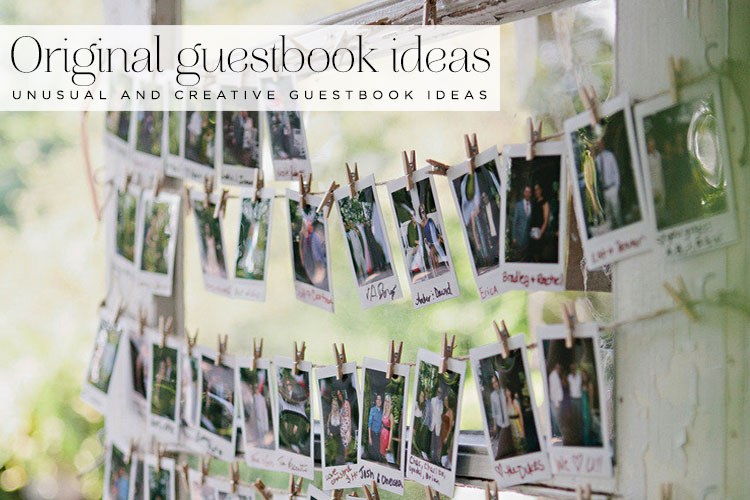 18 Unusual And Creative Guest Book Ideas Smashing The
