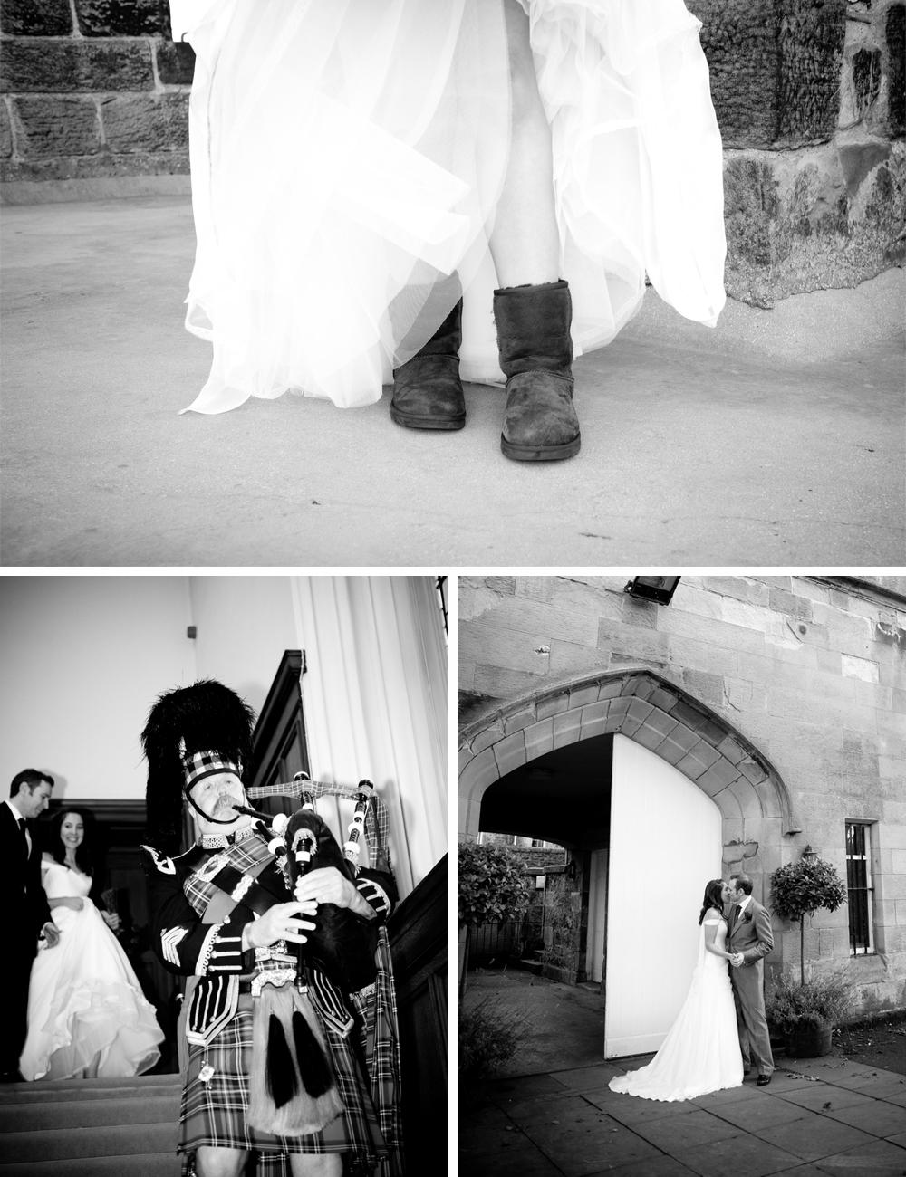SCOTTISH CASTLE JEWISH WEDDING H