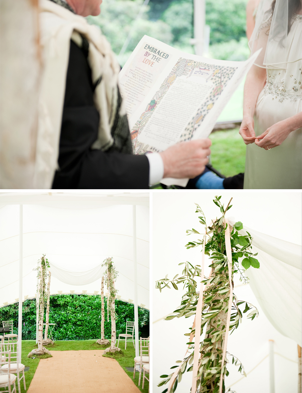 LONDON JEWISH WEDDING CHUPPAH