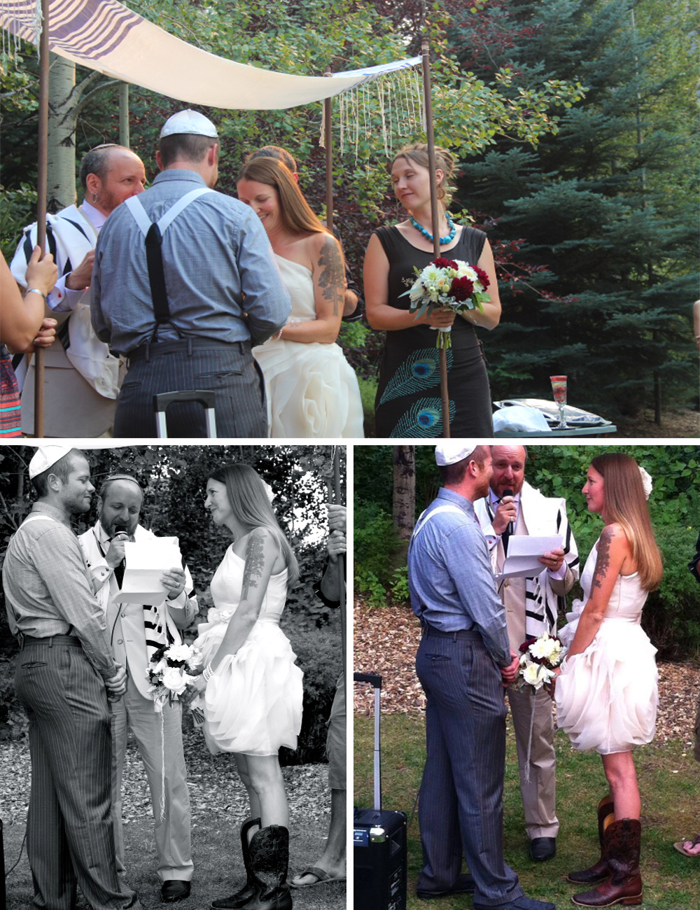DIY Jewish Wedding CEREMONY