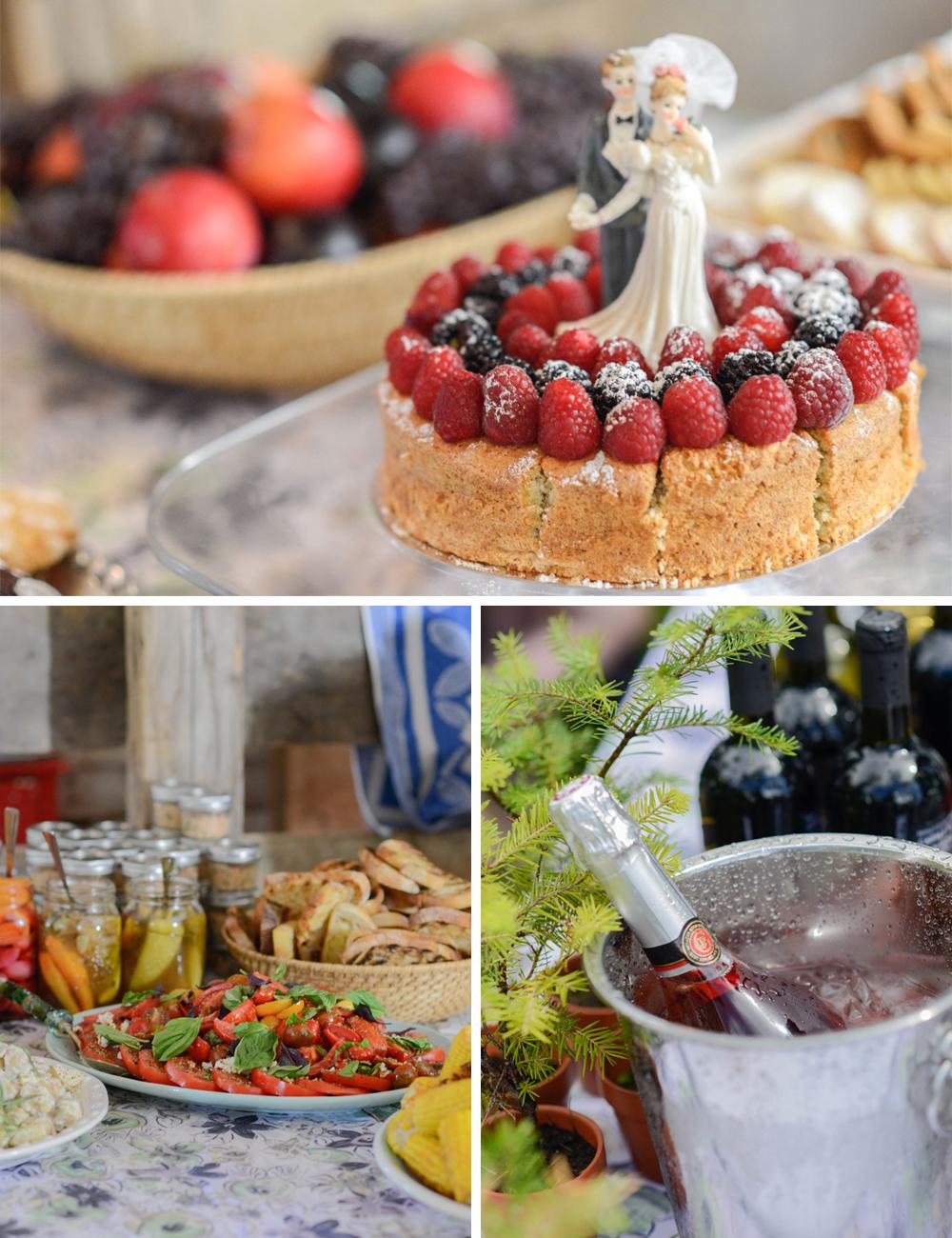 Handmade DIY wedding food 2