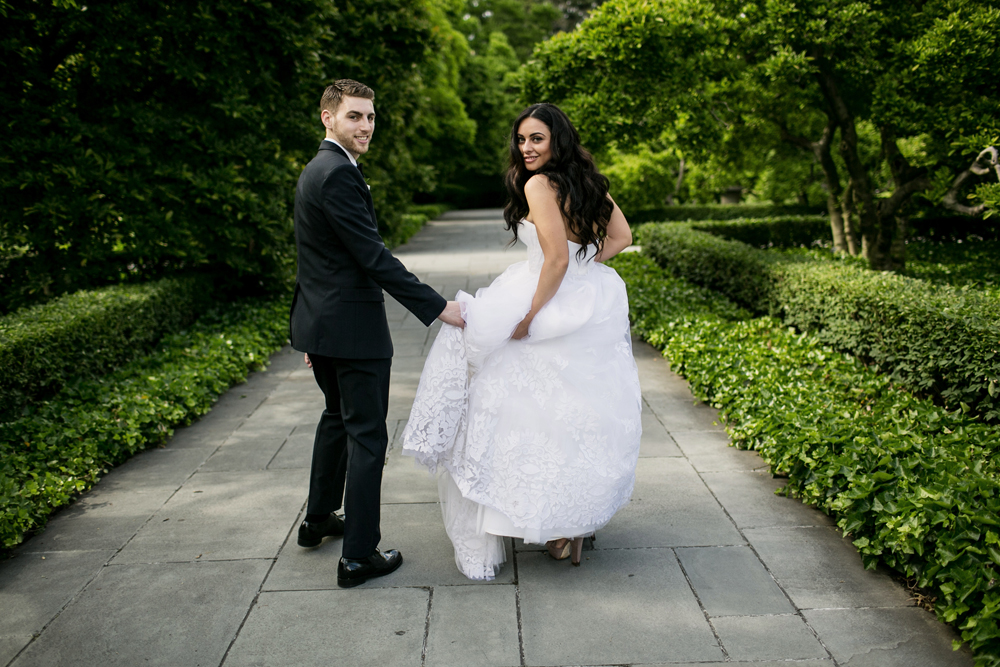 Jewish Greek Wedding at Brooklyn Botanical Garden New York 37