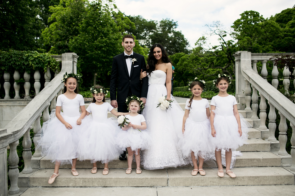 Jewish Greek Wedding at Brooklyn Botanical Garden New York 41