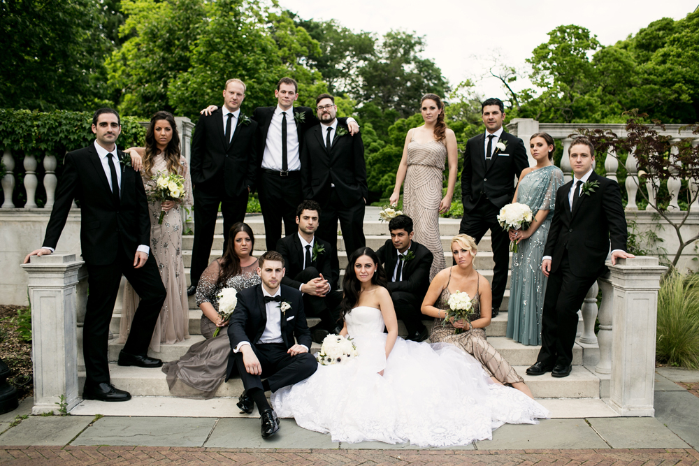 Jewish Greek Wedding at Brooklyn Botanical Garden New York 43