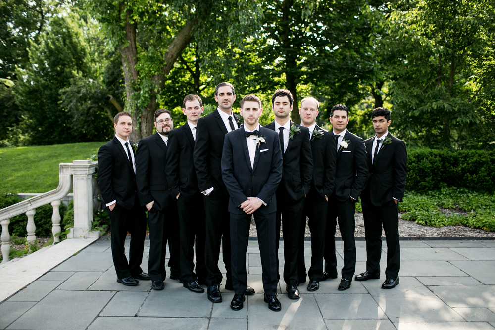 Jewish Greek Wedding at Brooklyn Botanical Garden New York 45