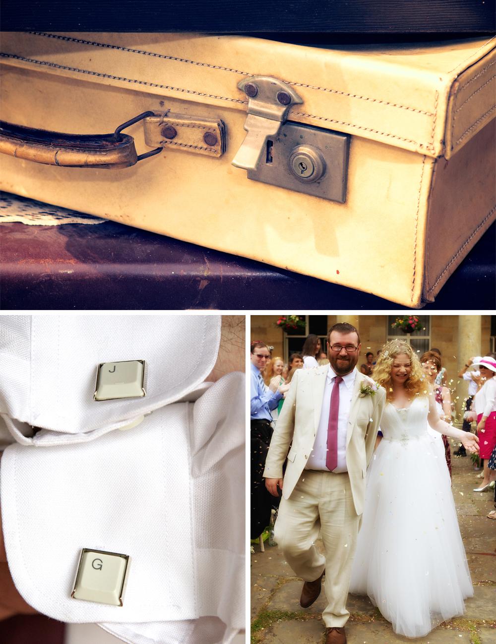 Jewish Vintage Wedding groom