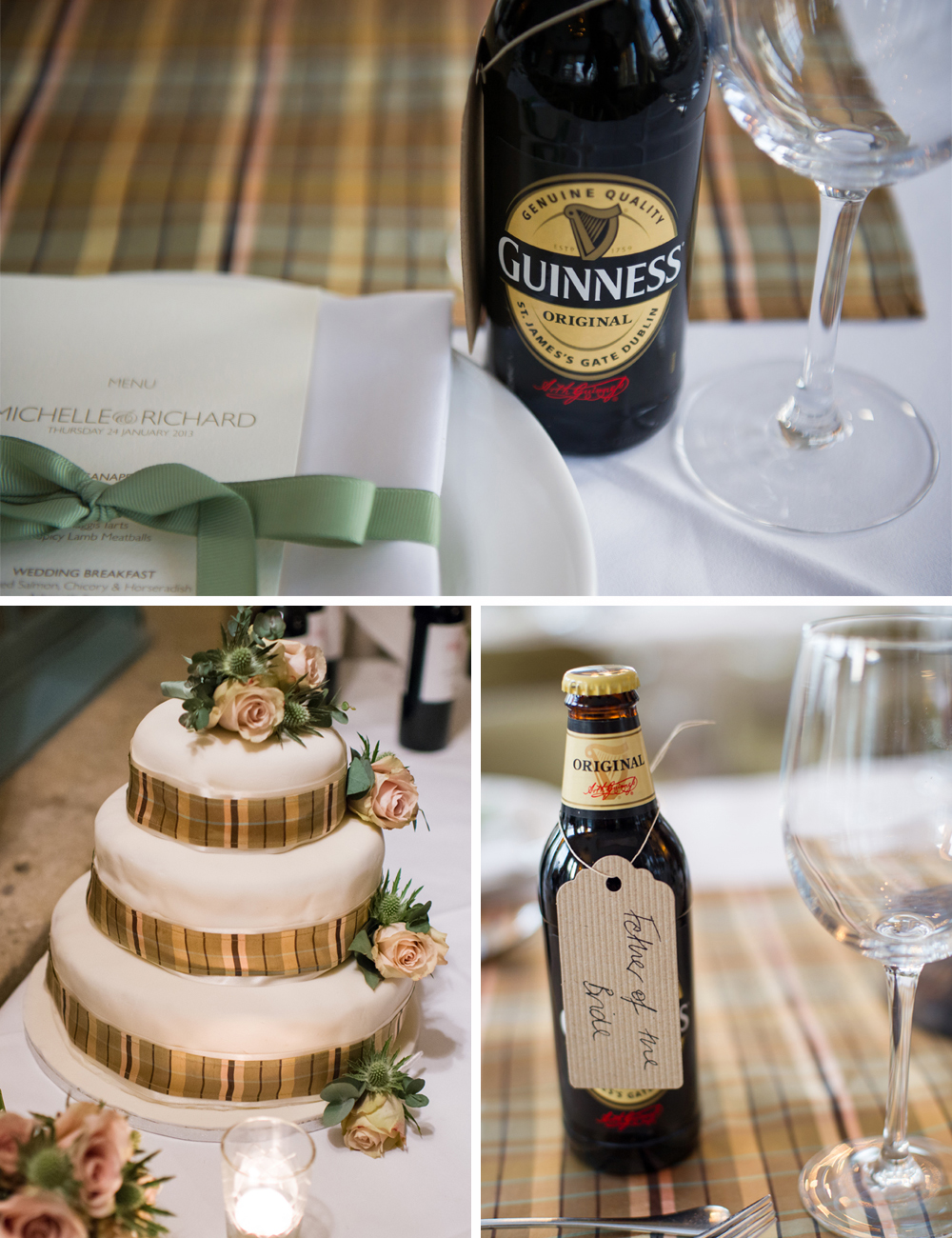 Jewish Wedding at Babington House TABLE DECOR