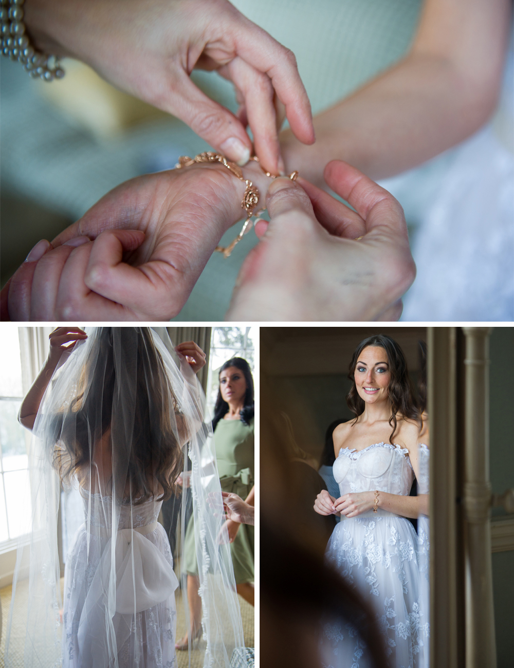 Jewish Wedding at Babington House VEIL