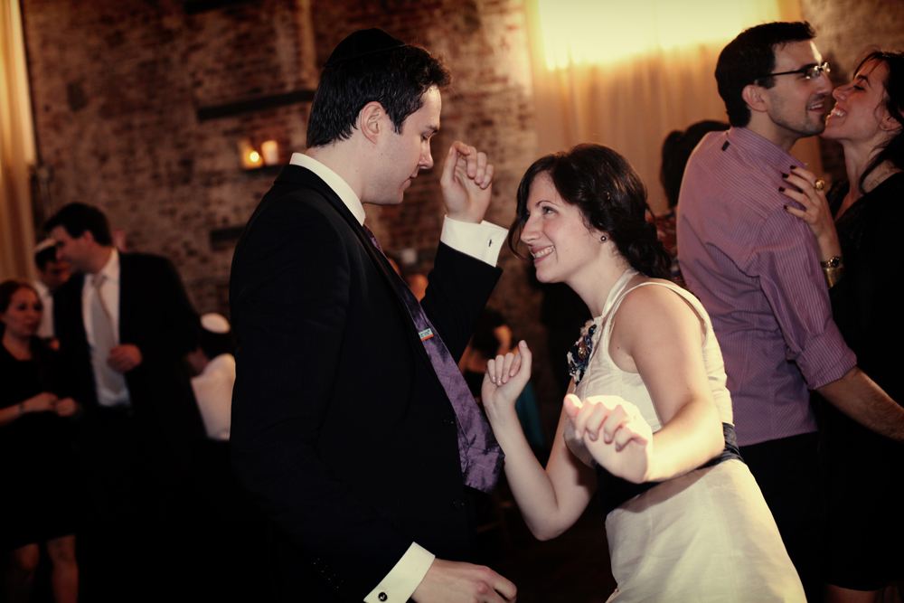 Jewish wedding at The Green Building, Brooklyn, New York 11