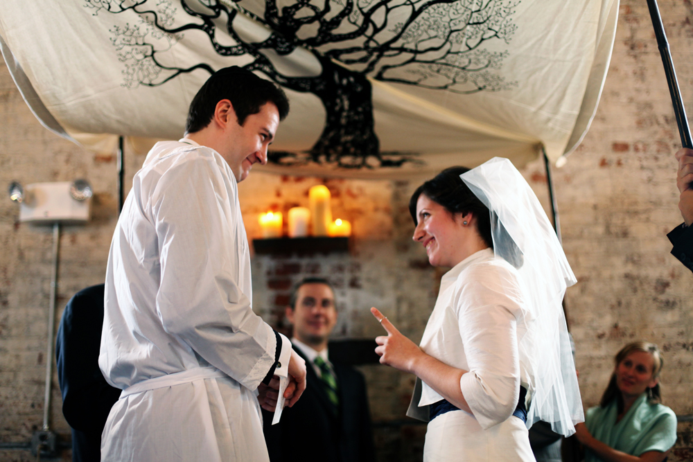Jewish wedding at The Green Building, Brooklyn, New York 28