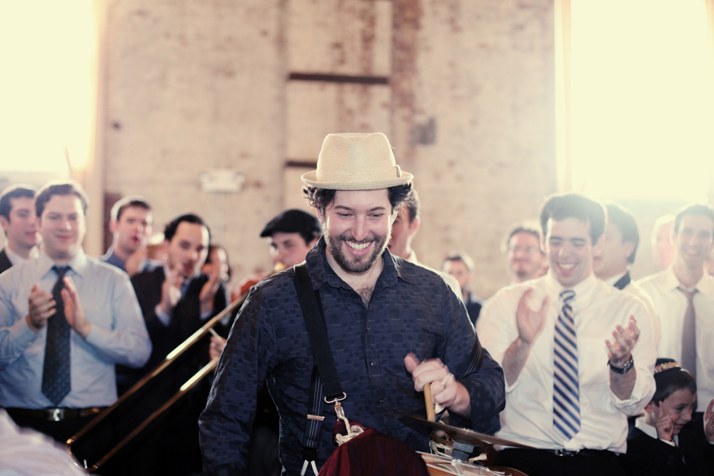 Jewish wedding at The Green Building, Brooklyn, New York 39