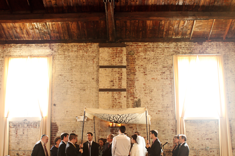 Jewish wedding at The Green Building, Brooklyn, New York 61