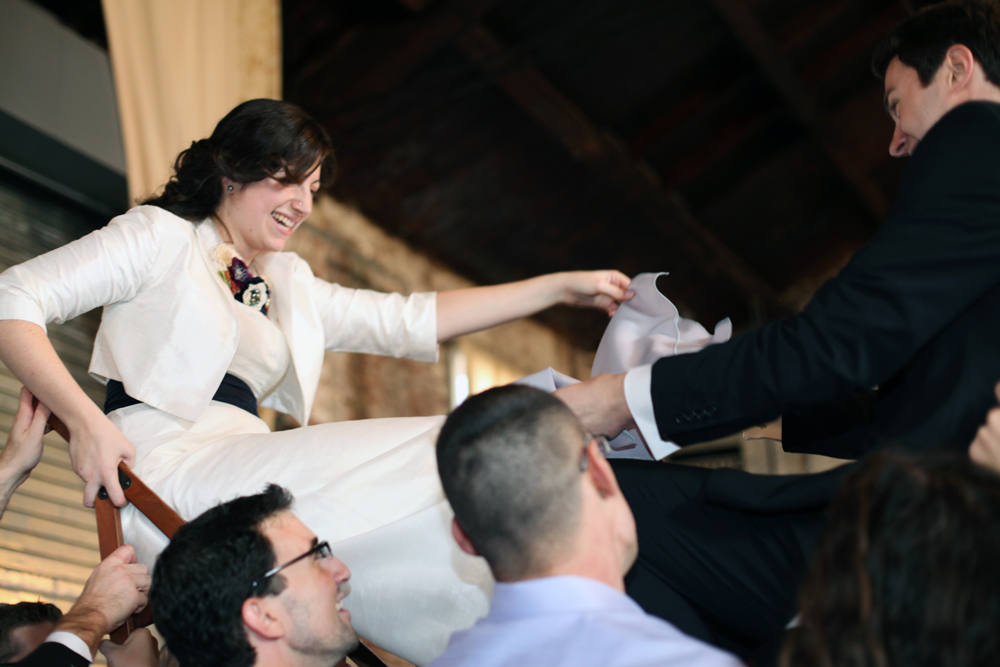 Jewish wedding at The Green Building, Brooklyn, New York 7