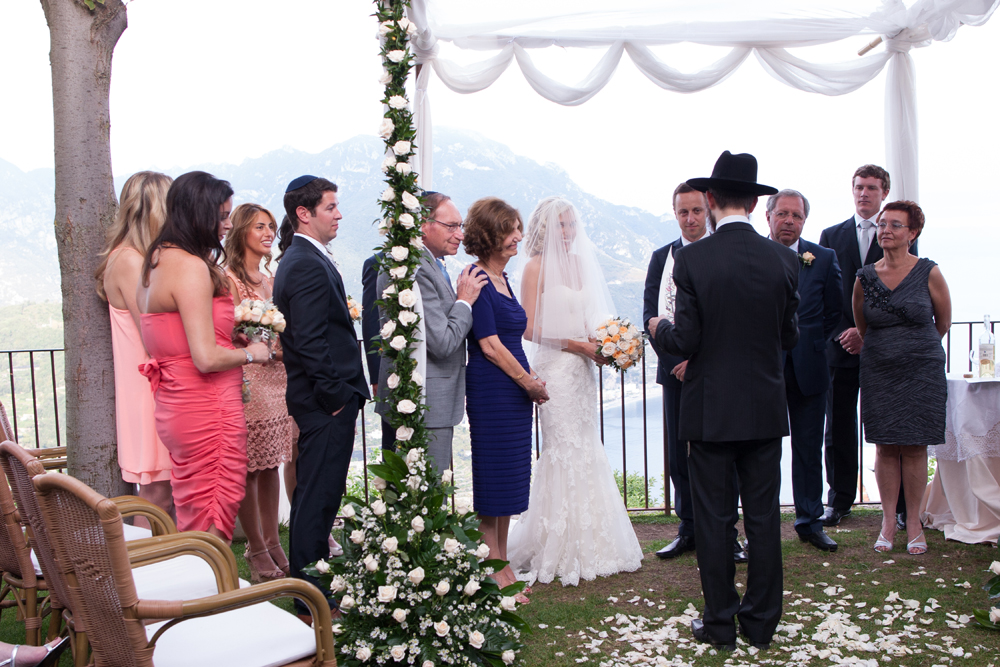 Ravello Amalfi Jewish Wedding 72