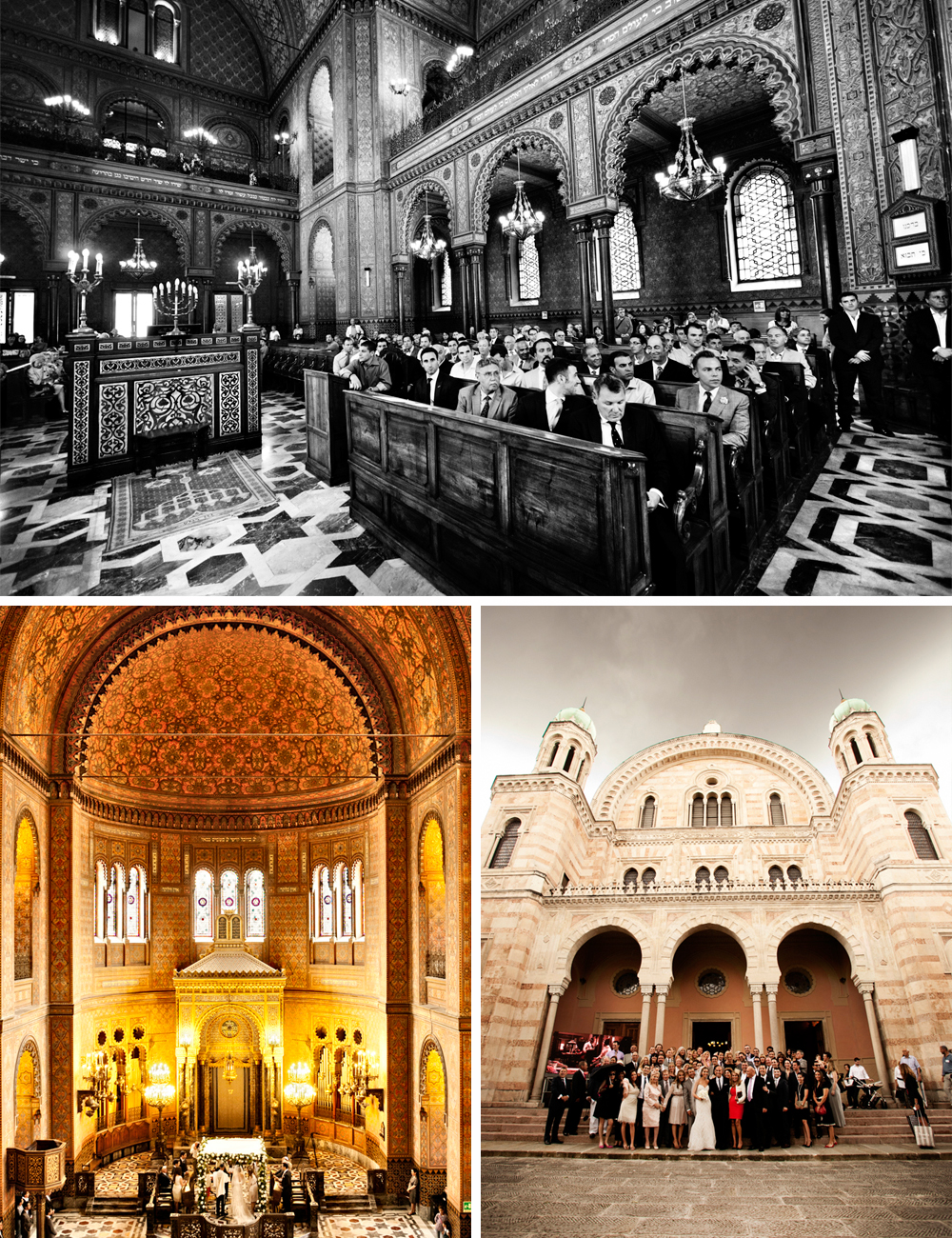 Florence Great Synagogue Wedding