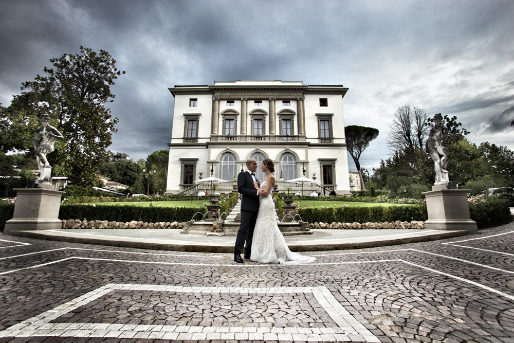 Florence Villa Cora Wedding 26