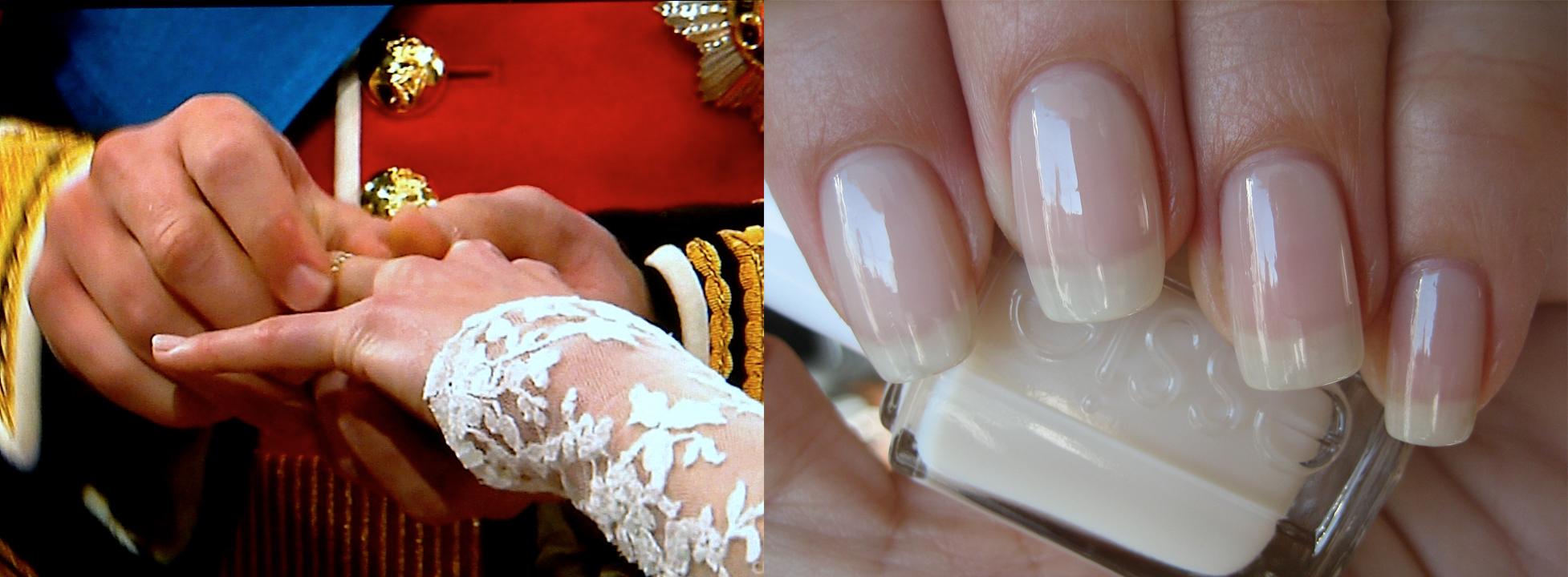 Kate Middleton wedding nails