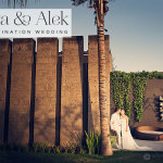 Tanya & Alek | Super-sophisticated + intimate white-themed Jewish wedding, Bali, Indonesia